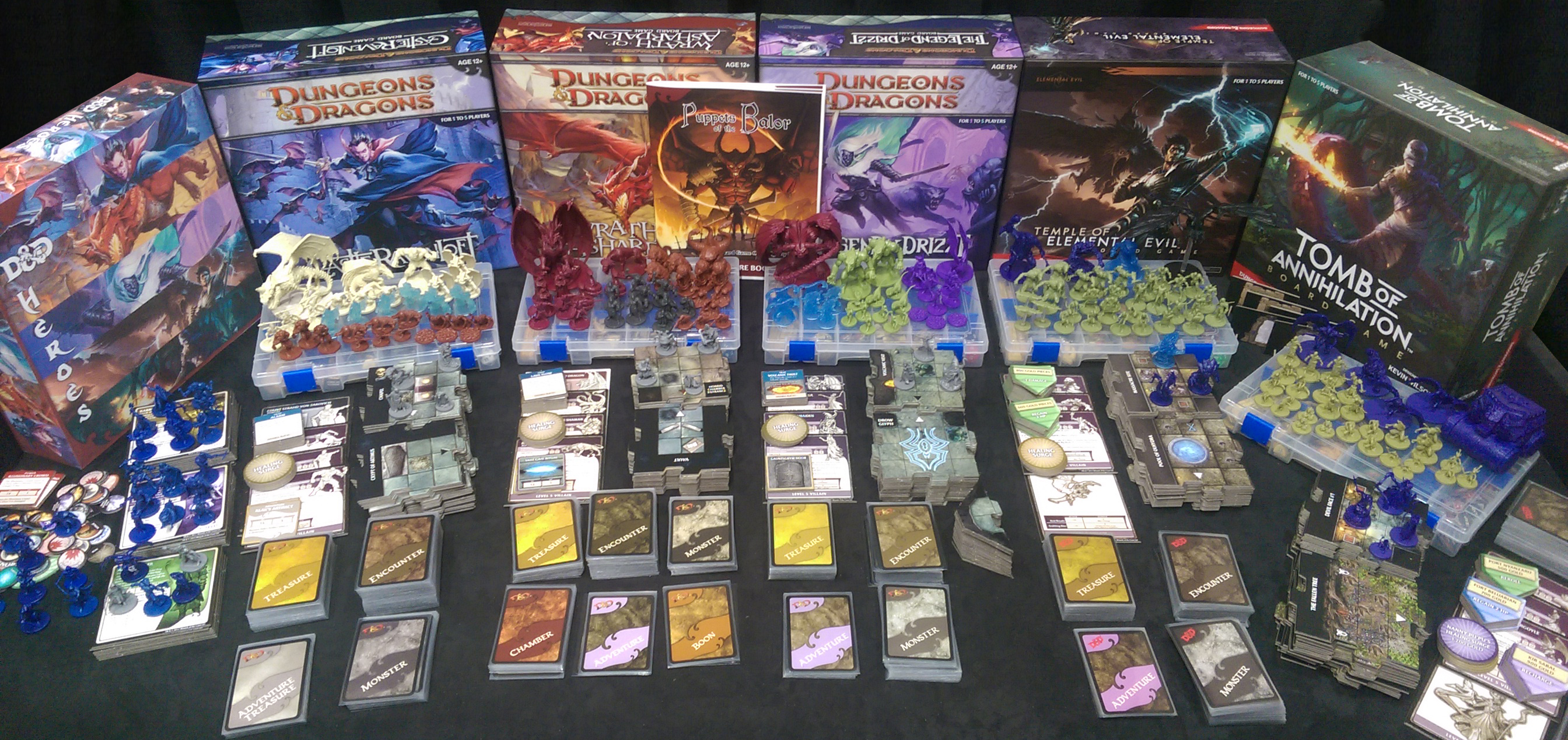 Dd Adventure Board Games Kelsam Tabletop