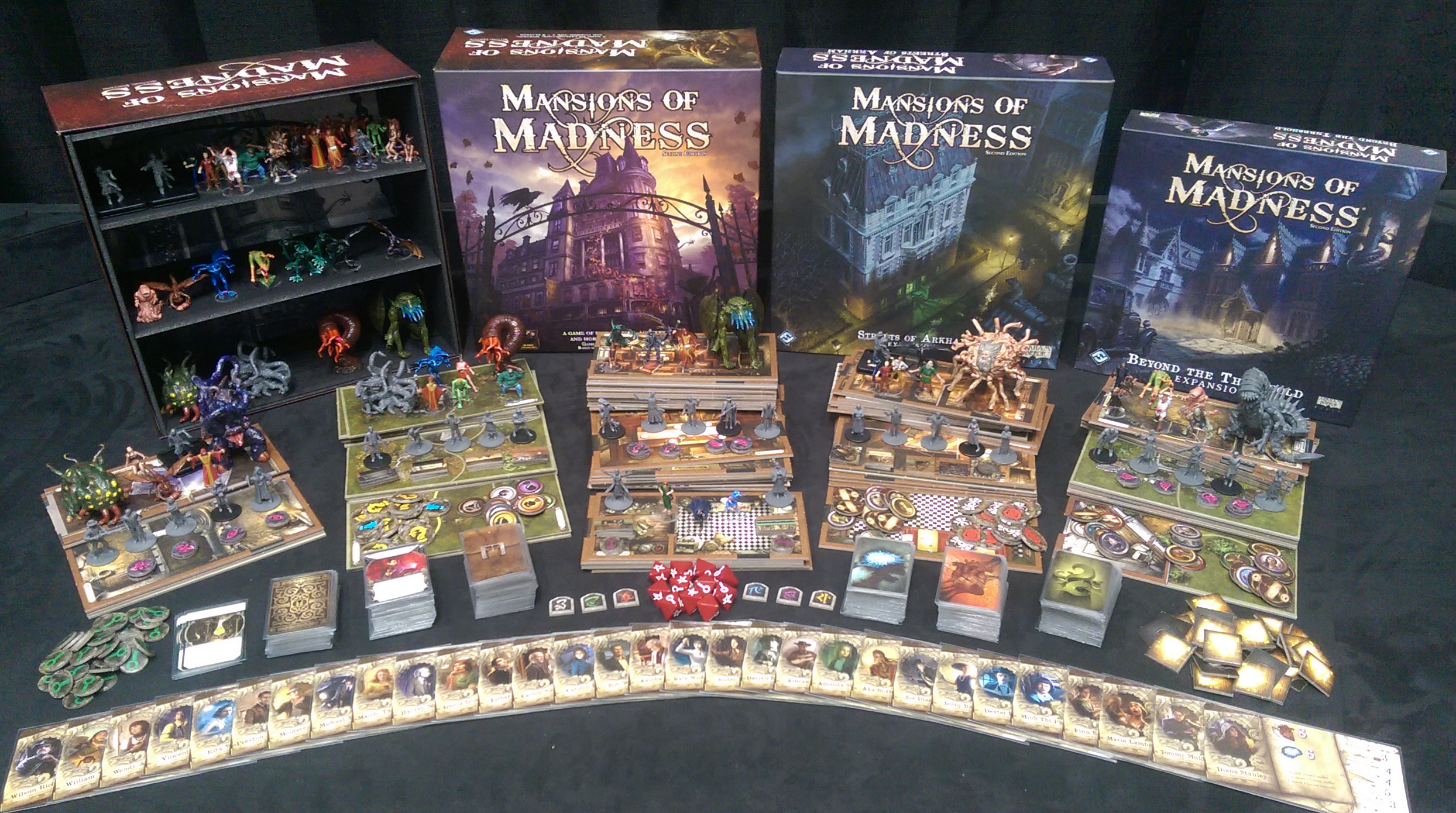 Mansions Of Madness Second Edition Kelsam Tabletop