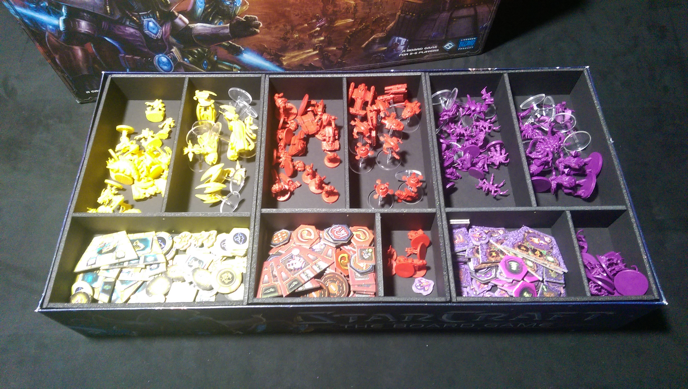 Starcraft The Board Game Kelsam Tabletop