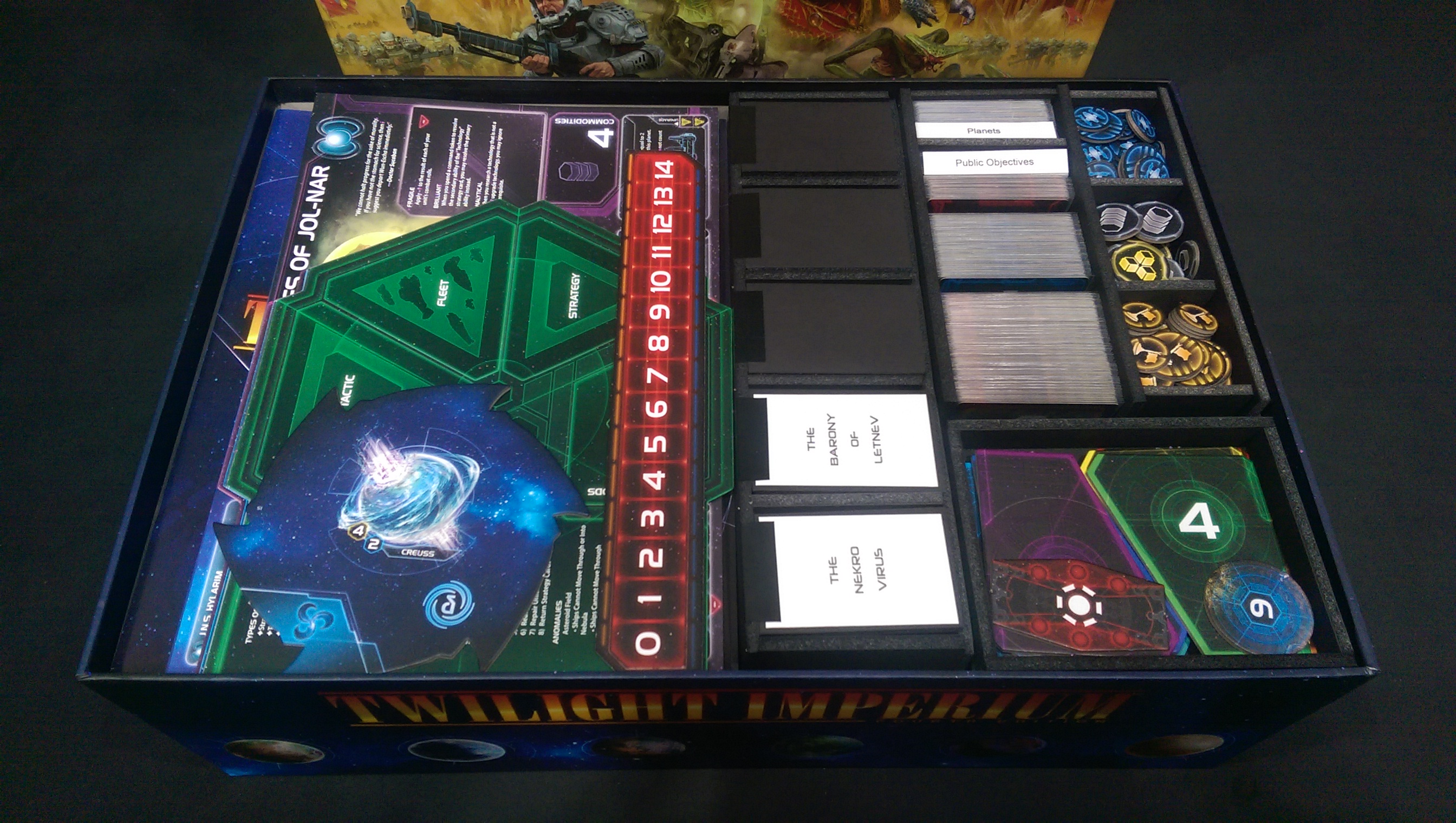 Twilight Imperium Fourth Edition Kelsam Tabletop
